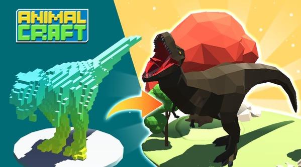 Animal Craft 3D Idle Animal Kingdom Mod Logo