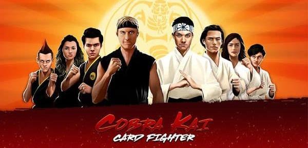 Cobra Kai Card Fighter Mod Logo