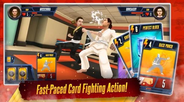 Cobra Kai Card Fighter Mod Screenshot 1