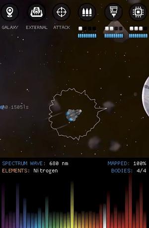 Galaxy Genome Mod Screen 1