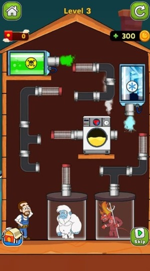 Home Pipe Water Puzzle Screenshot 1