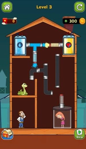 Home Pipe Water Puzzle Screenshot 2