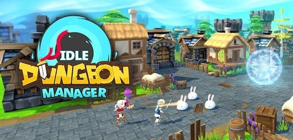Idle Dungeon Manager - Arena Tycoon Game Mod Logo