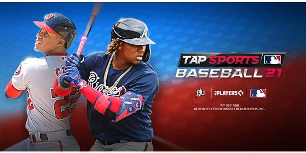 MLB Tap Sports Baseball 2021 Mod Logo