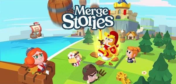 Merge Stories - Merge, Build and Raid Kingdoms Mod APK Logo