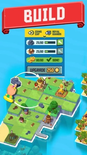 Merge Stories - Merge, Build and Raid Kingdoms Mod Screen 1