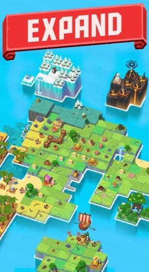 Merge Stories - Merge, Build and Raid Kingdoms Mod Screen 2