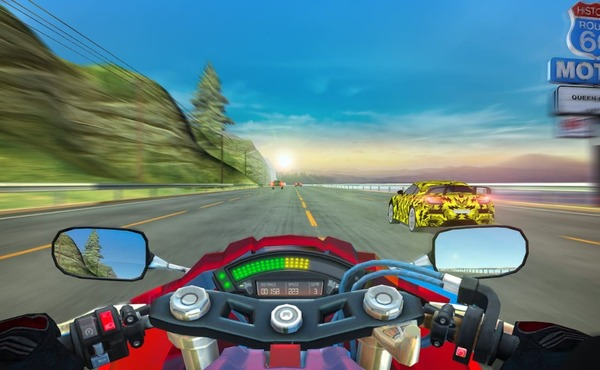 Moto Rider USA Highway Traffic Mod Screenshot 1