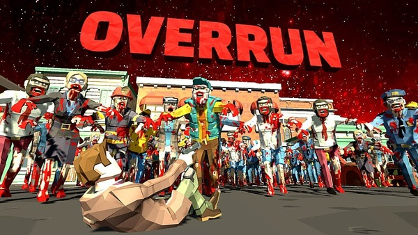 Overrun Zombie Horde Survival Mod Logo