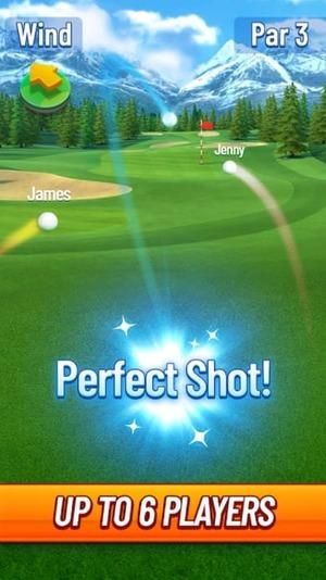 Golf Strike Screen 2
