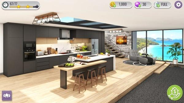 Home Design Renovation Raiders Mod Screen 1