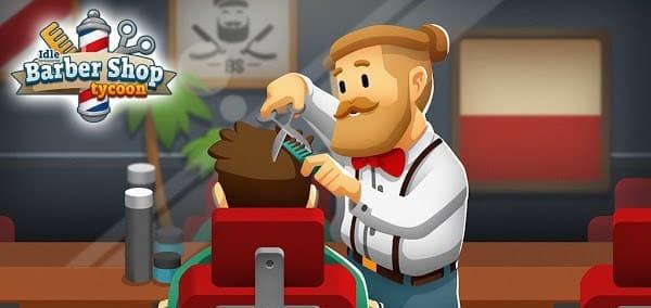 Idle Barber Shop Tycoon Mod Logo