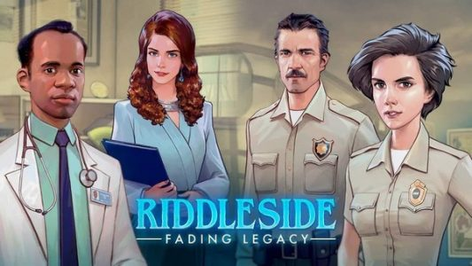 Riddleside Fading Legacy Logo