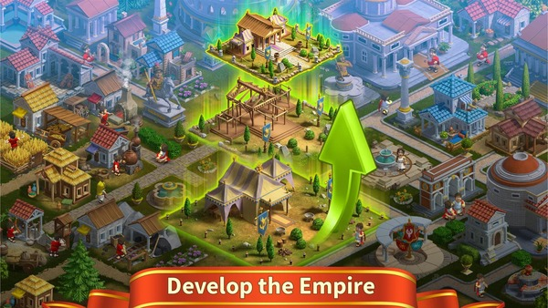 Rise of the Roman Empire City Builder & Strategy Mod Screen 1