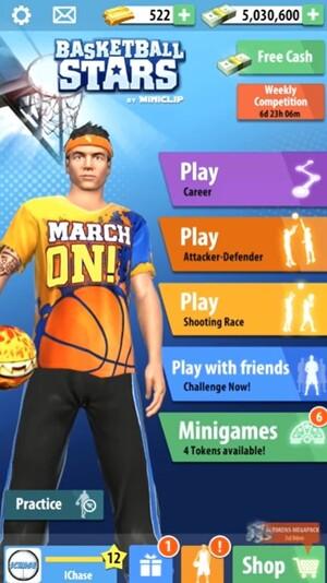 Basketball Stars Screenshot 1