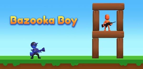 Bazooka Boy Logo