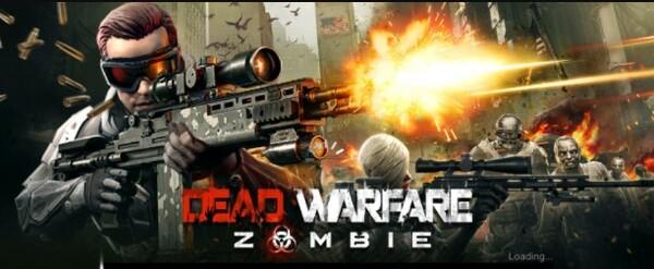 DEAD WARFARE Zombie Logo