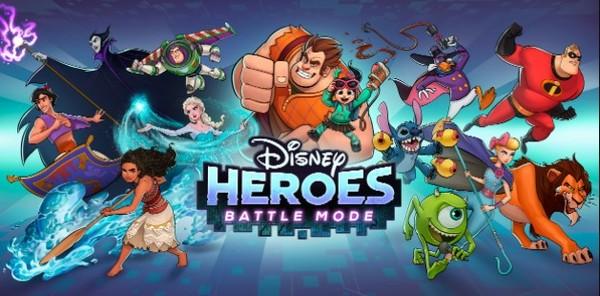 Disney Heroes Battle Mode Logo