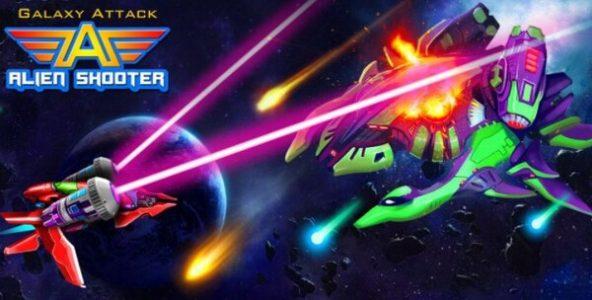 Galaxy Attack Alien Shooter Logo