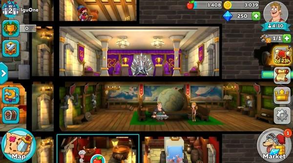 Hustle Castle Fantasy Kingdom Screenshot 2