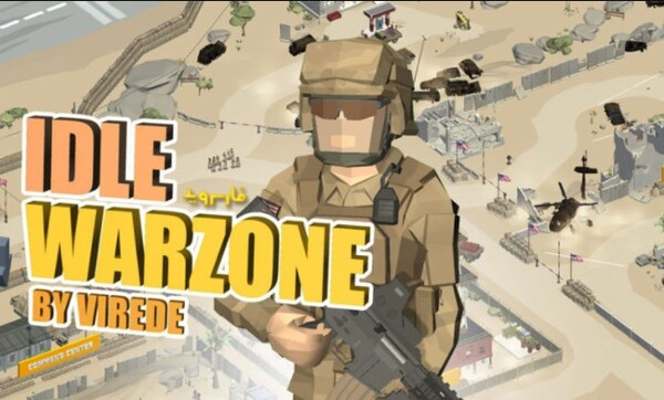 Idle Warzone 3D Logo