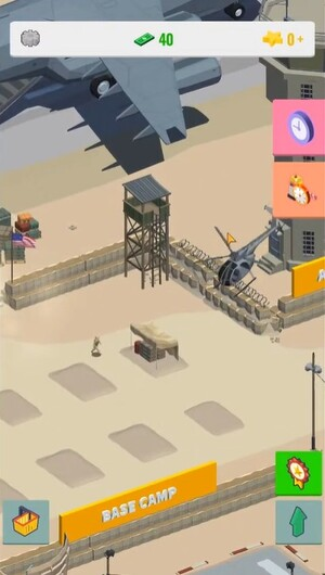 Idle Warzone 3d Screen 1