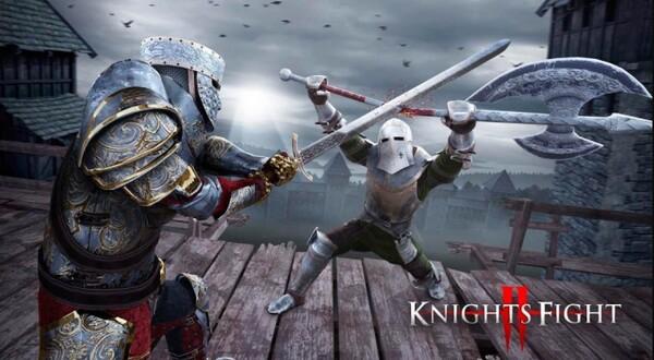 Knights Fight 2 Honor & Glory Logo