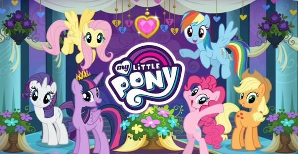 MY LITTLE PONY Magic Princess Logo