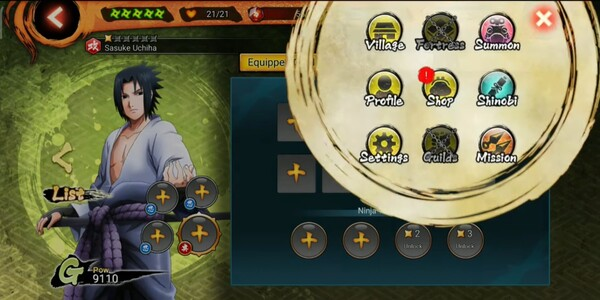NARUTO X BORUTO NINJA VOLTAGE Mod APK Screen 2