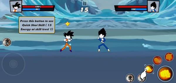 Super Stick Fight All-Star Hero Screenshot 1