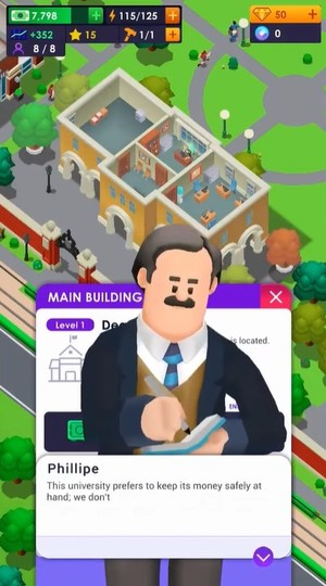 University Empire Tycoon Screenshot 1