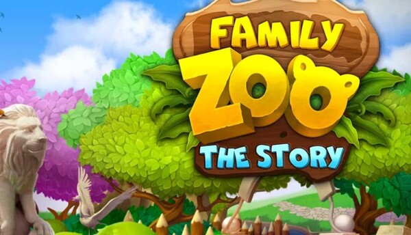 Family Zoo The Story Logo