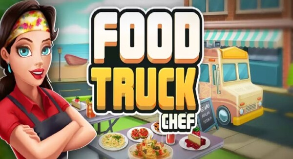 Food Truck Chef Logo