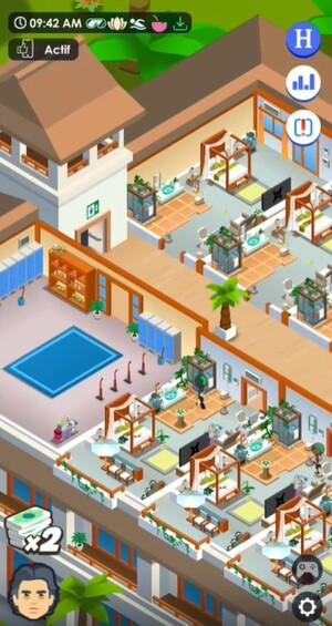Hotel Empire Tycoon Screenshot 2