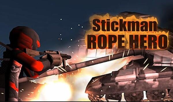Stickman Rope Hero Logo