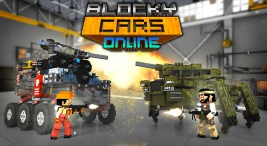 Blocky Cars Online Logo