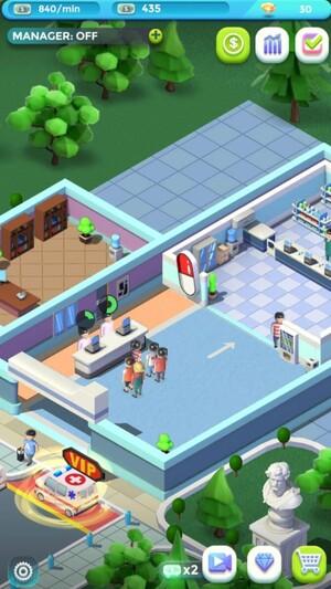 Idle Hospital Tycoon 1
