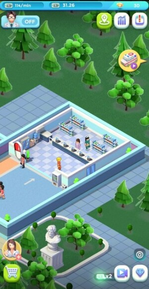 Idle Hospital Tycoon 2