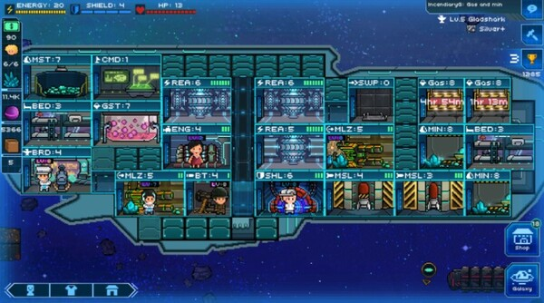 Pixel Starships Screen 2