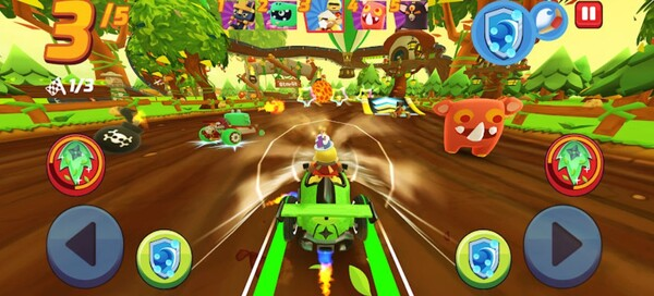 Starlit Kart Racing Logo