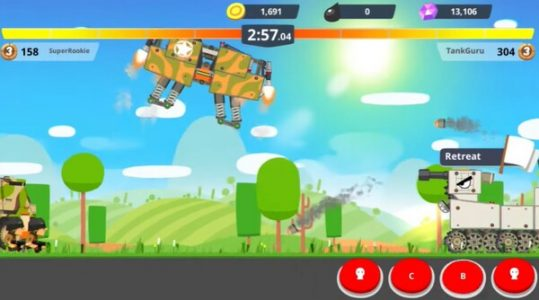 Super Tank Rumble Screen 2