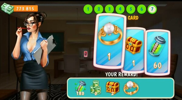 Campus Date Sim Screen 2