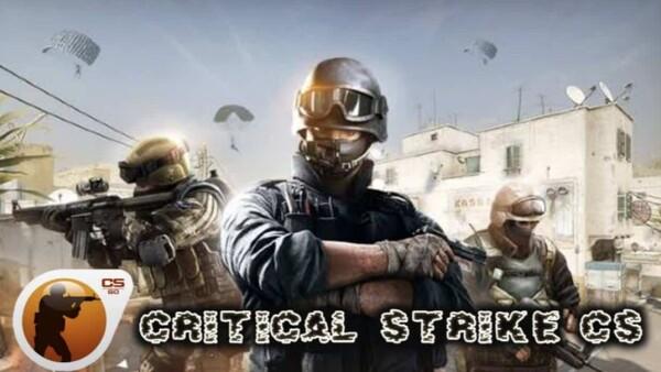 Critical Strike CS Logo