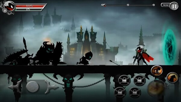 Stickman Legends Shadow Wars Screen 1