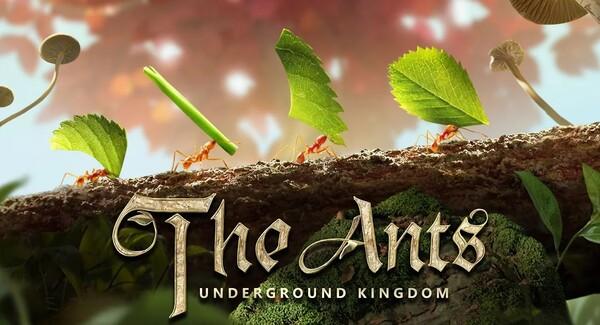 The Ants Underground Kingdom Logo