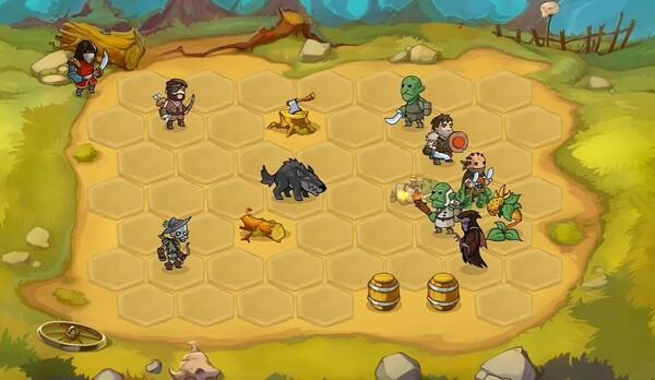 Braveland Battles Screen 1
