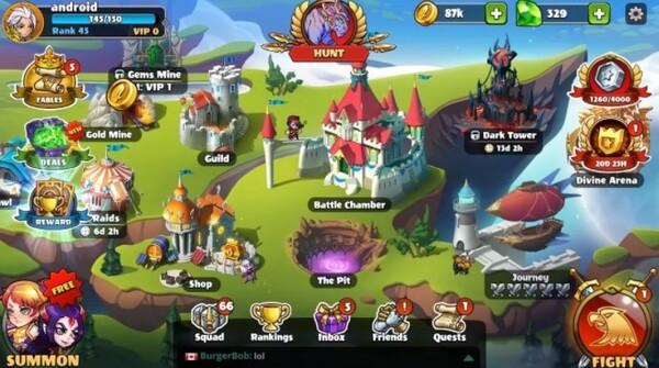Mighty Party Magic Arena Logo Screenshot 1