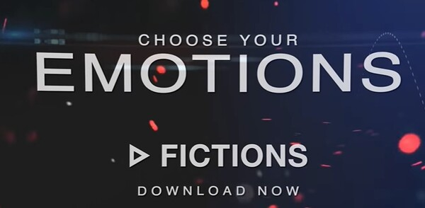 Fictions Choose your emotions Logo